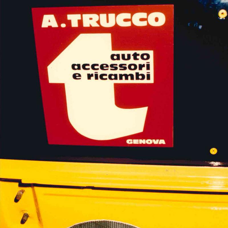 Attilio Trucco, Genova, ricambi auto e moto